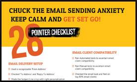 Send Email Campaign Checklist