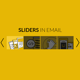 responsive carousel slider for email