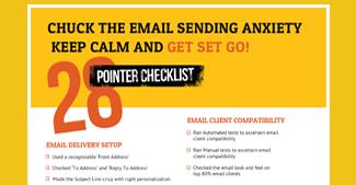 Email Sending Checklist