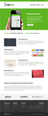 PSD to Responsive HTML Email