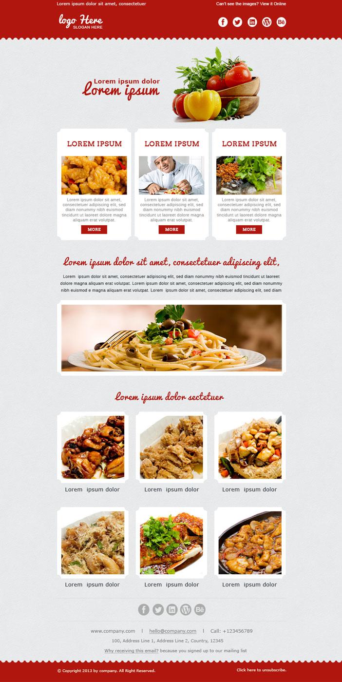 Custom email newsletter template design html coding service spiritdancerdesigns Images