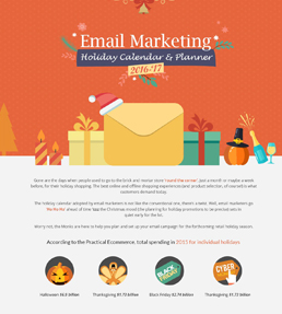 Holiday Email Marketing Calendar