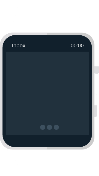 Smartwatch for email check