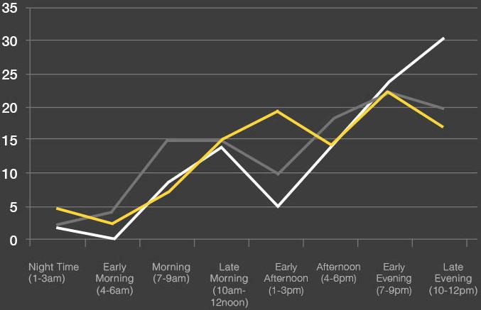 2013 viewing pattern